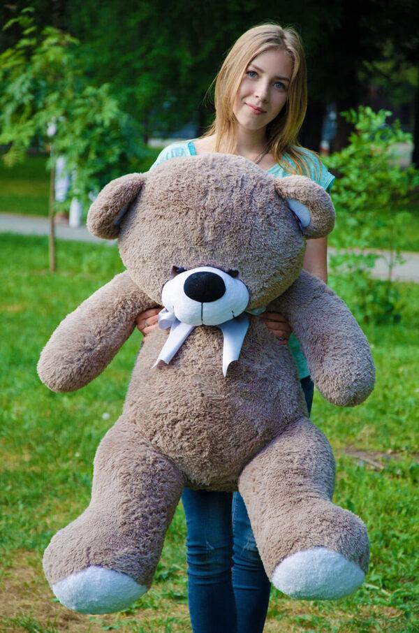 Медведь Бойд 125 см Капучино