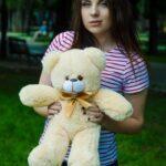 Медведь Рафаэль 50 см медовый — Coolbear