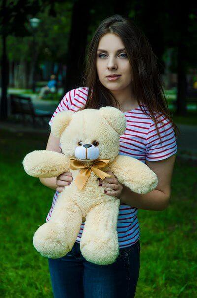 Медведь Рафаэль 50 см медовый
