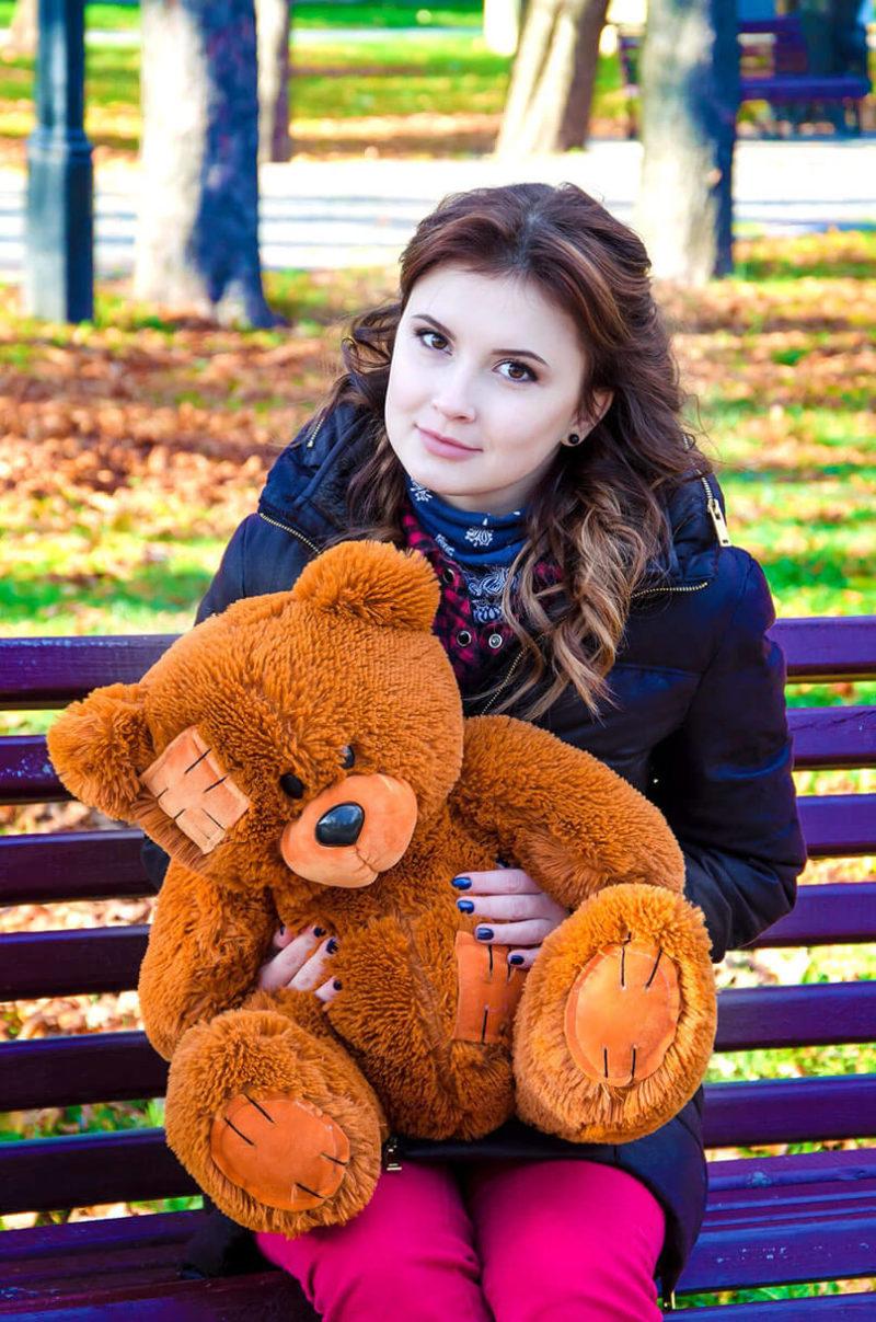 Медведь Потап 50 см Коричневый