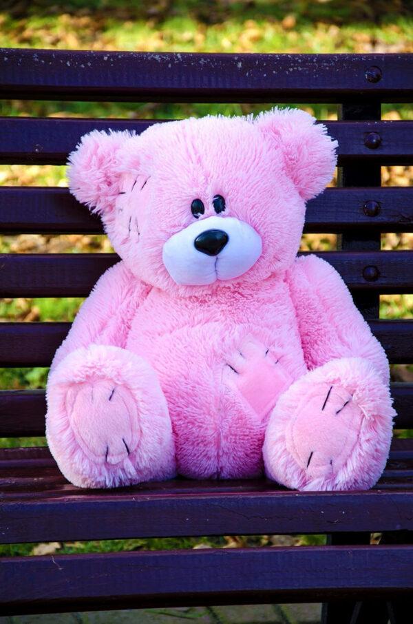 Медведь Потап 50 см Розовый