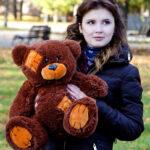 Медведь Потап 50 см Шоколадный