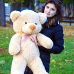 Медведь Рафаэль 100 см Бежевый — Coolbear