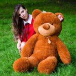 Медведь Рафаэль 140 см Коричневый — Coolbear