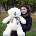 Медведь Тедди 80 см Шампань