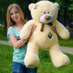 Медведь Тедди 110 см Абрикос — Coolbear