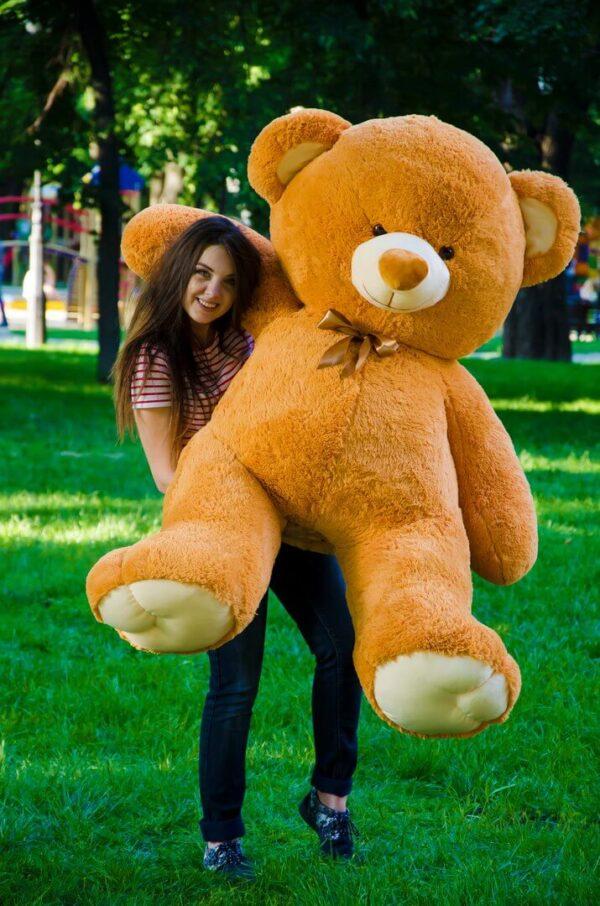 Медведь Томми 180 см Карамельный