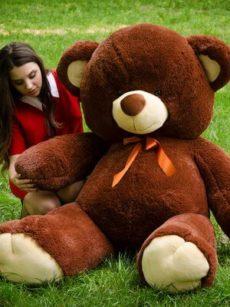 Медведь Томми 180 см Шоколадный