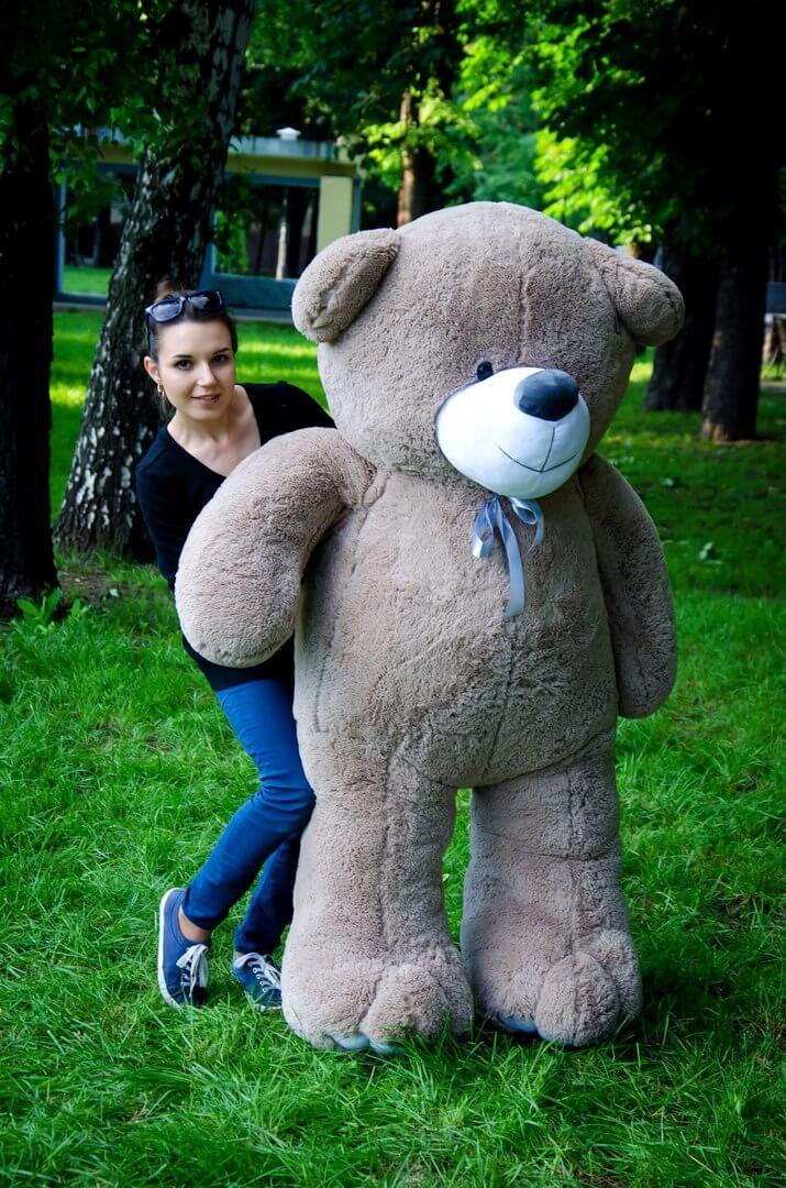 Медведь Ветли 200 см Капучино