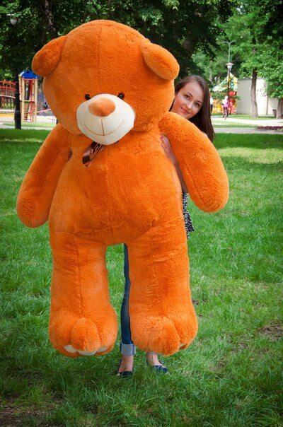 Медведь Ветли 200 см Карамельный