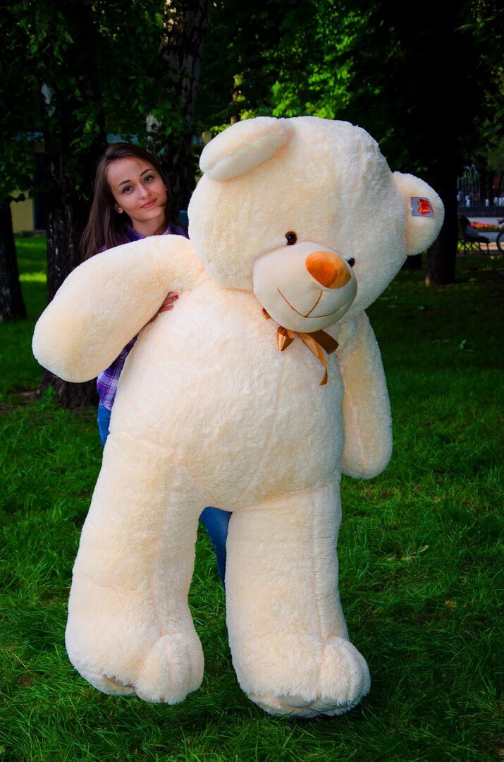 Медведь Ветли 200 см Персик