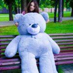 Медведь Ветли 200 см Серый
