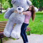Медведь Ветли 160 см Серый — Coolbear