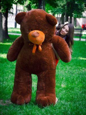 Медведь Ветли 200 см Шоколадный