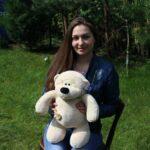 Медведь Физзи Мун сидячий Бежевый 45 см