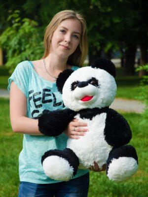 Панда сидячая 85 см