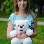 Мишка Пух Белый 45 см