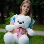 Мишка Пух Белый 75 см — Coolbear